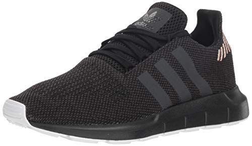 adidas Originals Women's Swift Running Shoe, Black/Carbon/White, 7 M US