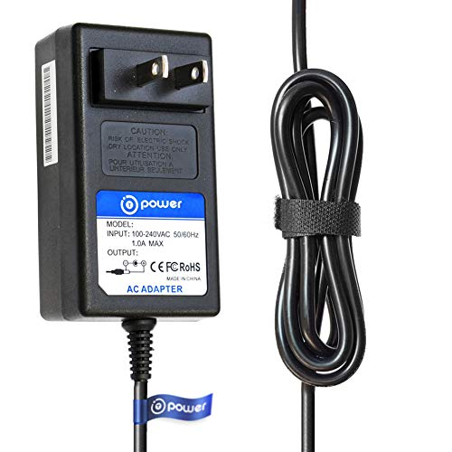 T-Power Ac Adapter Compatible with Plustek OpticFilm 120 Film & Slide Scanner,S,N: 1A312B002127 Charger Power Supply