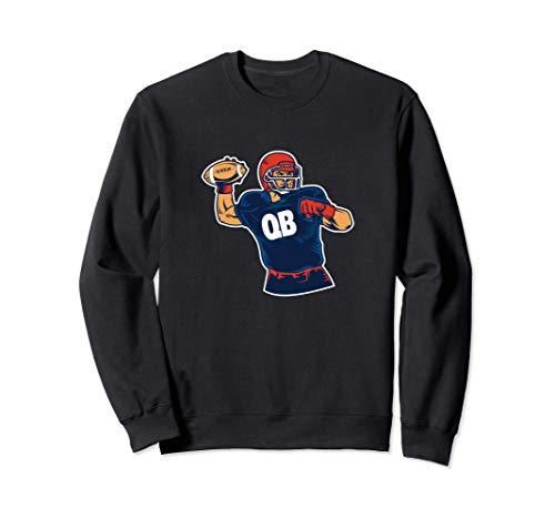 Quaterback - Schönes Geschenk für Football Spieler Sweatshirt
