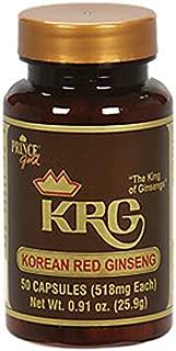 Prince Gold ® Korean Red Ginseng Capsules (50 ct)