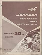 1969 JOHNSON OUTBOARD SEA-HORSE 20 HP PARTS MANUAL