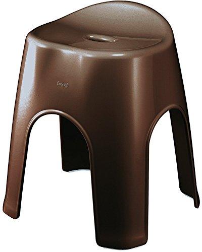 アスベル 風呂椅子 エミール 高さ40cm Ag 抗菌 ブラウン