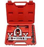 YOTOO Double Flaring Tool Kit Brake Line Flaring Tools for Copper, Aluminum,...