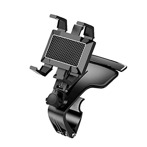 Tuimiyisou salpicadero de un Coche de Montaje para Todos los teléfonos Inteligentes Soporte para teléfono Soporte de Coche GPS Negro
