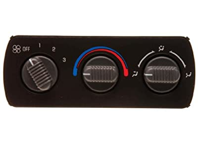 ACDelco 15-72623 GM Original Equipment Auxiliary Heating and Air Conditioning Control Panel