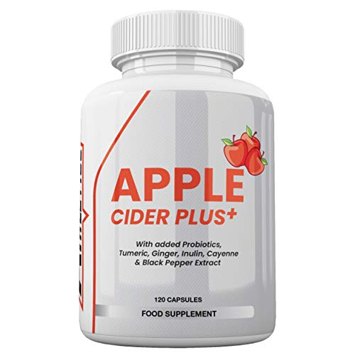 Apple Cider Vinegar Capsules - Boosted with Probiotics for Optimal Gut Health - Apple Cider Vinegar Tablets
