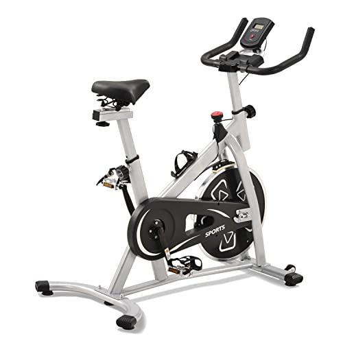WZFANJIJ Bicicletas estáticas estacionarias, Bicicleta estática para el hogar Bicicleta de Ciclismo Interior para el hogar Cardio Gym, Bicicleta de Entrenamiento