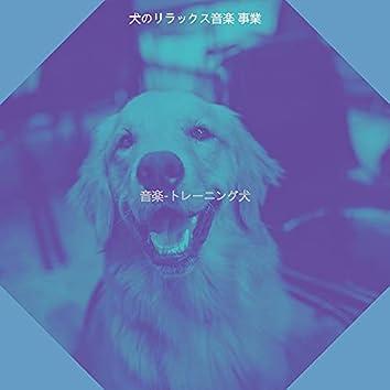 音楽-トレーニング犬