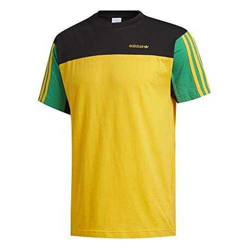 Adidas Classics - Camiseta dorado/negro. S