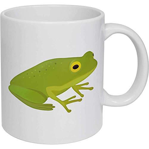 Taza de café, taza de té, regalo de cerámica Frosch para mujeres y hombres
