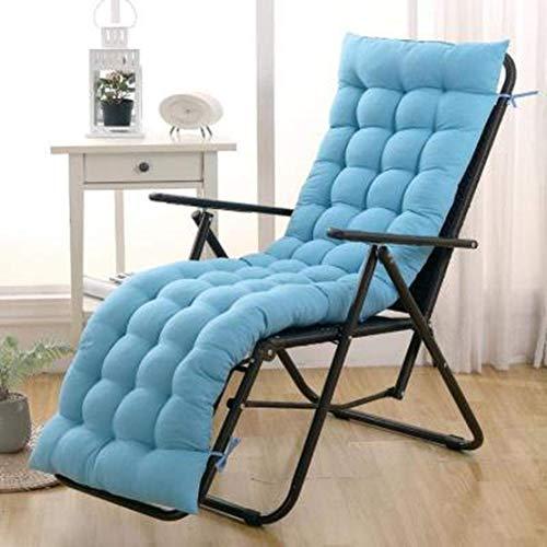 JGHF Cojín de color sólido suave y cómodo para silla de oficina, cojín de silla reclinable, cojín largo, varios tamaños disponibles (estilo 5 sin silla, 48 x 120 cm)