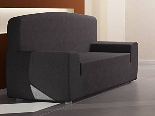 LANOVENANUBE - Funda sofa THOMSON 2 plazas color Gris