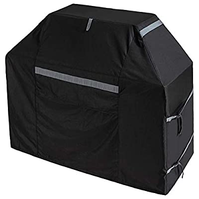 Outdoor Grill Cover Waterproof 58 inch All Weather Gas Grill Covers 600D BBQ Cover Windproof Heavy Duty 3 Burner Premium Gas Grill Cover for Weber, Nexgrill, Jenn Air,Brinkmann ect.