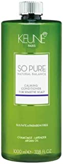 Keune So Pure Natural Balance Calming Conditioner - 33.8 oz / liter