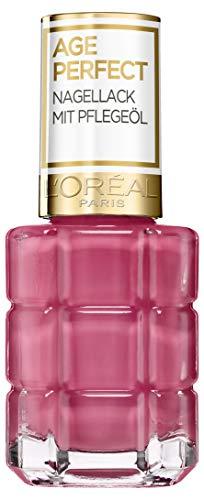 L'Oréal Paris Age Perfect Nagellack mit Pflegeöl 224 Ballet rosa/Koralle Apricot