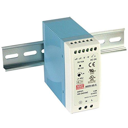 Carril Fuente de alimentación 60W 48V 1,25A; MeanWell, MDR de 60–48; Carril Fuente