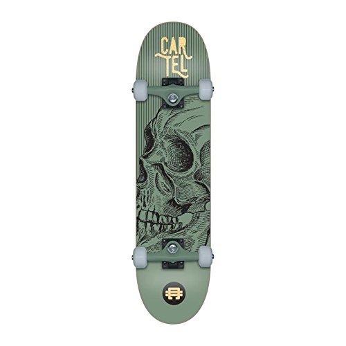 CARTEL Skateboard 7,8 - Mixte - Vert métallisé