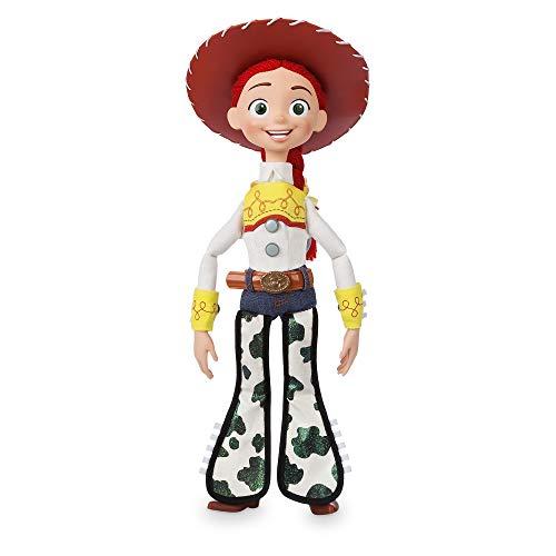 Disney Tienda Oficial Toy Story 4 Deluxe Talking Jessie Doll Toy Detector ( INGLÉS Hablando )
