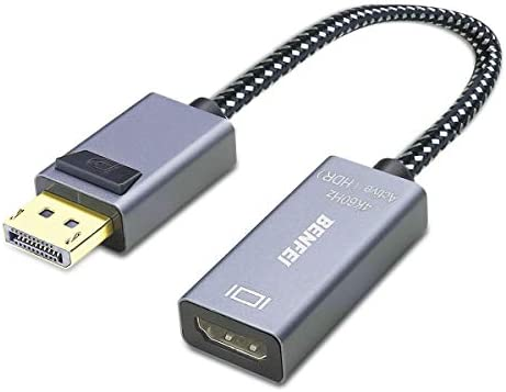 BENFEI DisplayPort to HDMI DP to HDMI Adapter 4K 60Hz Compatible with HP ThinkPad AMD NVIDIA product image