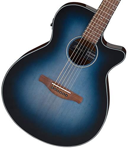Ibanez AEG50 Acoustic-Electric Guitar (Indigo Blue Burst)