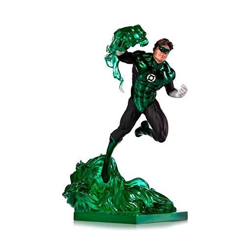 Estatua Linterna Verde 23 cm. by Ivan Reis. BDS Art Scale. Escala 1:10. con luz. Edición Limitada. Iron Studios
