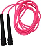 Aerolooks Pink Jump Skipping Rope for Men Gym, Women, Weight Loss, Kids, Girls, Children, Adult Best in Sports, Fitness, Exercise, Workout