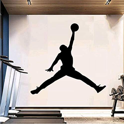 Wandtattoo Michael Jordan 104x110cm Wandbild Des Aufklebers, Plakat, Haupttapetenschlafzimmerwohnzimmer-küchenhauptdekor