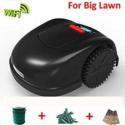 ZDYLM-Y Robotic Lawn Mower, Automatic Charging Smart Automower, Smortphone APP Contol, for Large Yards