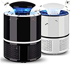Wazdorf Electronic Led Mosquito Killer Lamps USB Powered UV LED Light Super Trap Mosquito Killer Machine for Home Insect Killer Mosquito Killer Eco-Friendly Electric Mosquito Trap Device (1 Piece)