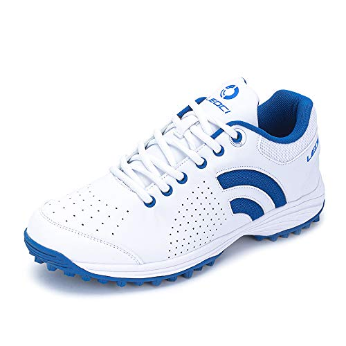 LEOCI Rubber Stud Comfort Kid's and Golf Shoes Phylon Cushion Adult Men and Women Cricket Shoes Hockey Shoes
