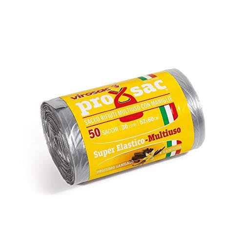 Virosac Bolsas con forma de Shopper, perfumadas, ideales para la recogida diferenciada doméstica – 5 kg