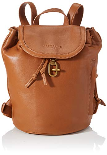 Liebeskind Berlin Rucksackhandtasche, Grace Backpack, Small, golden amber