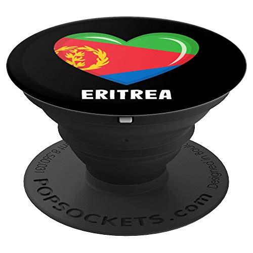 Eritrea Flagge Eritreischer Telefonhörergriff - PopSockets Ausziehbarer Sockel und Griff für Smartphones und Tablets