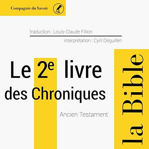 Couverture de Le 2e livre des Chroniques