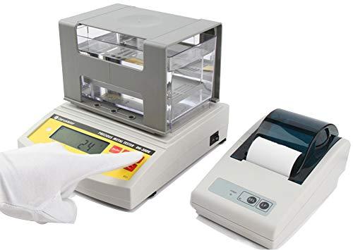Huanyu Medidor de densidad de oro DH-300K Medidor de densidad de oro del analizador de pureza Karat 0.001g / cm3 para joyería