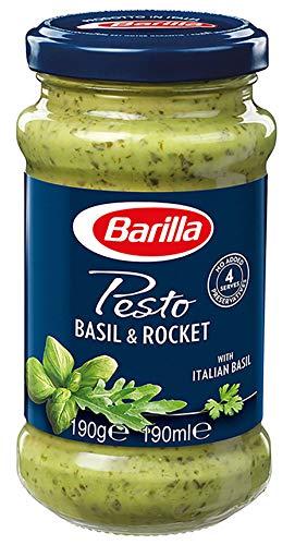 Barilla grünes Pesto Basilico e Rucola – 1 Glas, 190g