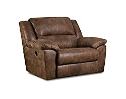 28 Inch Between Arms Recliner Chair