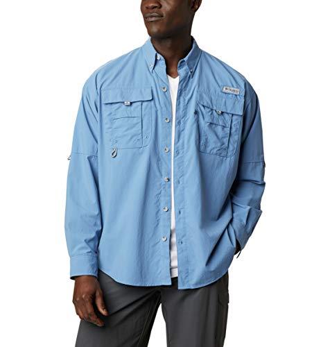Columbia Camisa de Manga Larga Bahama II para Hombre, Hombre, Bahama II - Camisa de Manga Larga, 1011622, Skyler, 4X