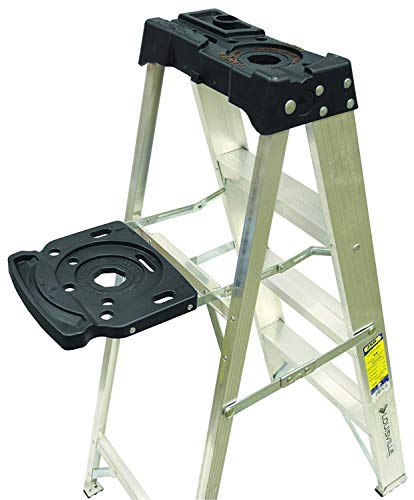 Louisville Ladder AS3005 Aluminum 5-foot ladder 300-Pound Duty Rating, 5