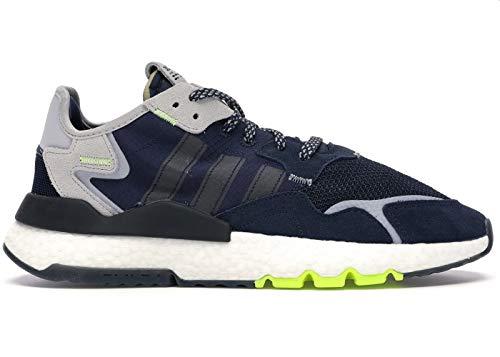 adidas Hombre Nite Jogger Zapatillas Azul, 40 2/3