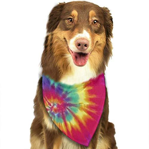 Sdltkhy - Pañuelo de cabeza de triángulo para mascota, gato, cachorro, perro