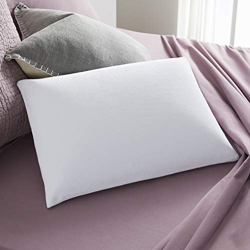 Sleep Innovations, Made in The USA Classic Memory Foam Queen Size Pillow with Breathable Knit Cover, 5 Year Warranty