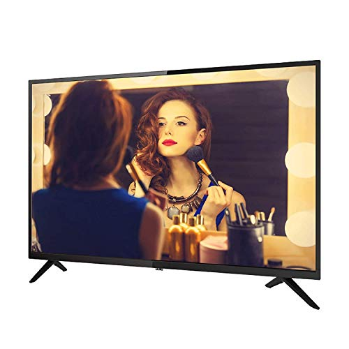 32/42/50/55/60 Pulgadas Smart TV 1080p Televisión LED de Pantalla Plana HDMI Incorporado, Smart TV HD 4k TV LCD Proyección inalámbrica Soporte Función de Enlace WiFi