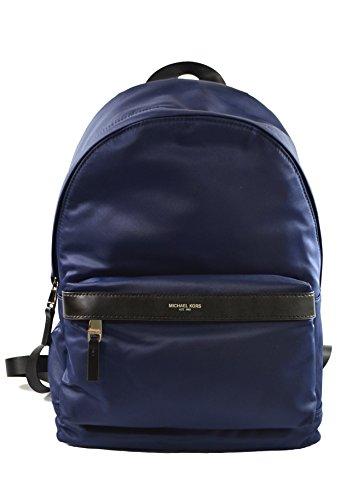 Michael Kors Kent Nylon Backpack For Work School Office Travel (Indigo)