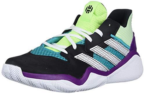 Zapatillas Adidas Harden Stepback para niños, Verde (Señal Verde/Ftwr Blanco/Core Negro), 39 EU