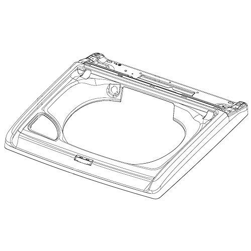 Samsung DC63-01418A Washer Top Panel Genuine Original Equipment Manufacturer (OEM) Part