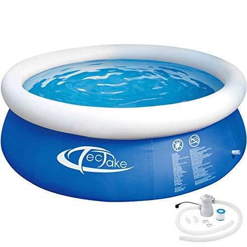 TecTake 800580 - Swimming Pool, Leichter Auf- und Abbau, Robuste...