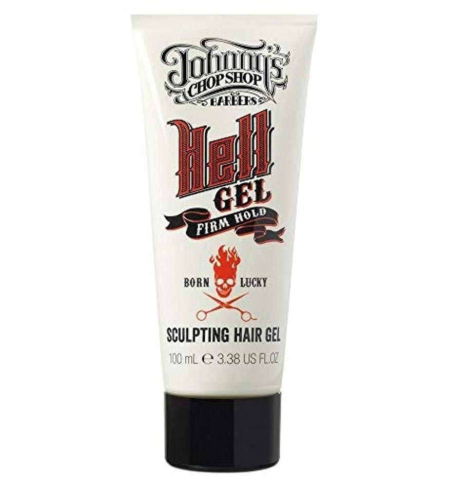 Johnny's Chop Shop Hell Gel Firm Hold Hair Gel 100ml