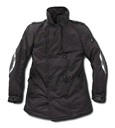 Vespa Original Herren Trenchcoat schwarz, Größen:S