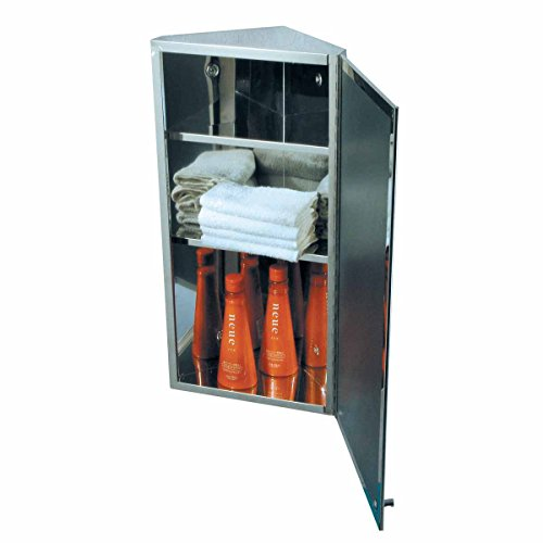 Mounted Corner Stainless Steel Cabinets - 1